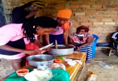 Enhancing socio-economic skills of girls affected by HIV